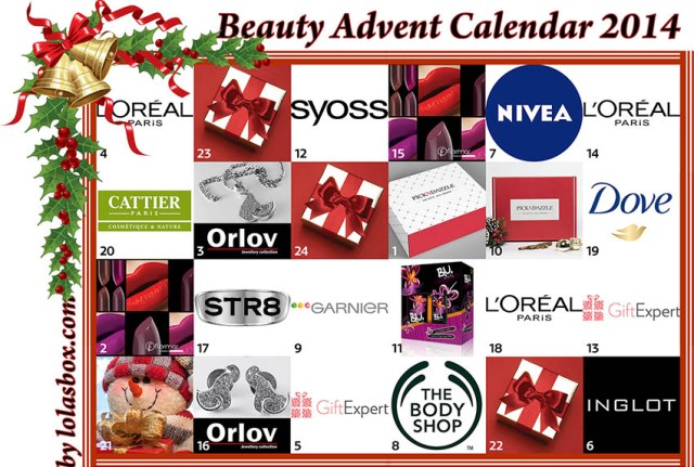 Beauty Advent Calendar, day 20