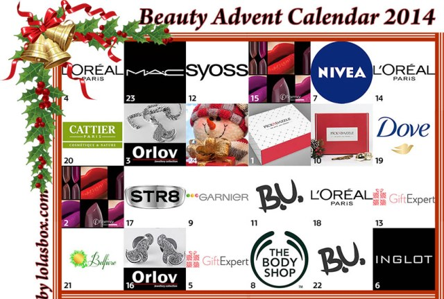 Beauty Advent Calendar, day 23