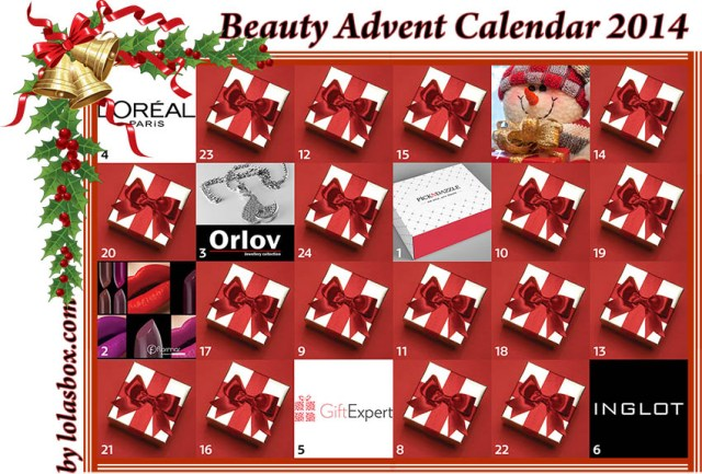 Beauty Advent Calendar, day 6