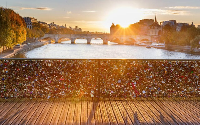 Fortuna Business Travel, city break Paris, Pont des Arts
