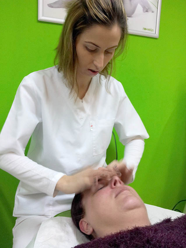 Nomasvello, tratament facial