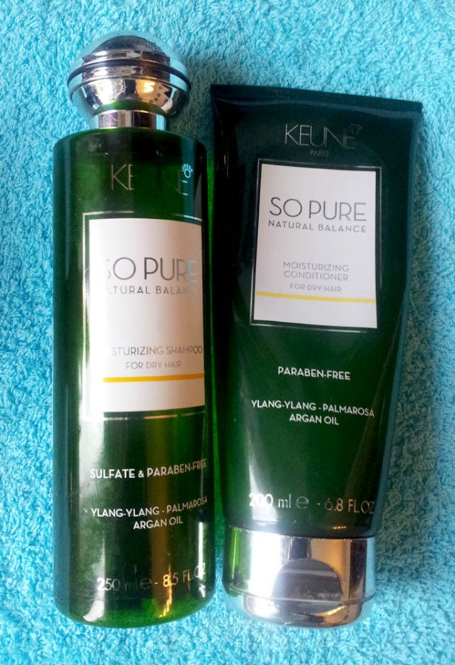 Keune, gamă So Pure Natural Balance