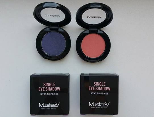Tried & tested: MustaeV Single Eye Shadow