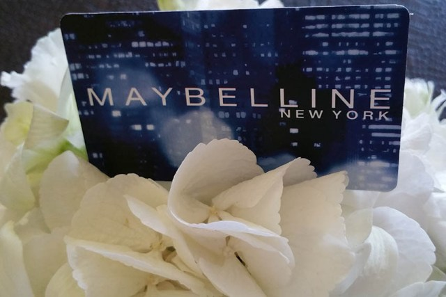 Maybelline boutique, card fidelitate