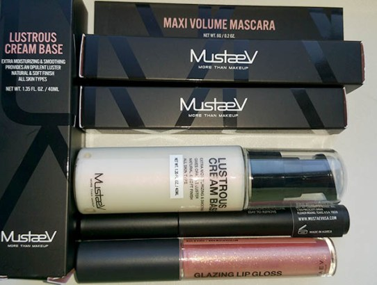 Tried & tested: MustaeV Maxi-Volume Mascara & Glazing Lips Gloss