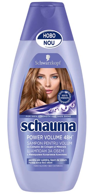 Schauma Power Volume 48h, şampon 400 ml