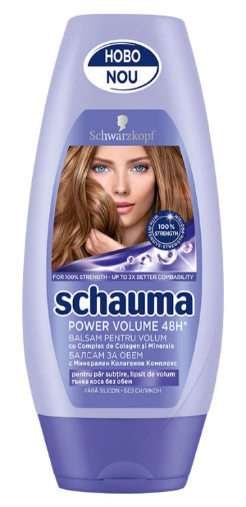 Schauma Power Volume 48h, balsam