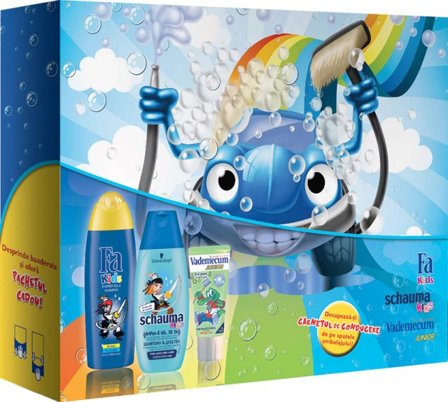 Henkel Beauty Care, cadou Kids Boys