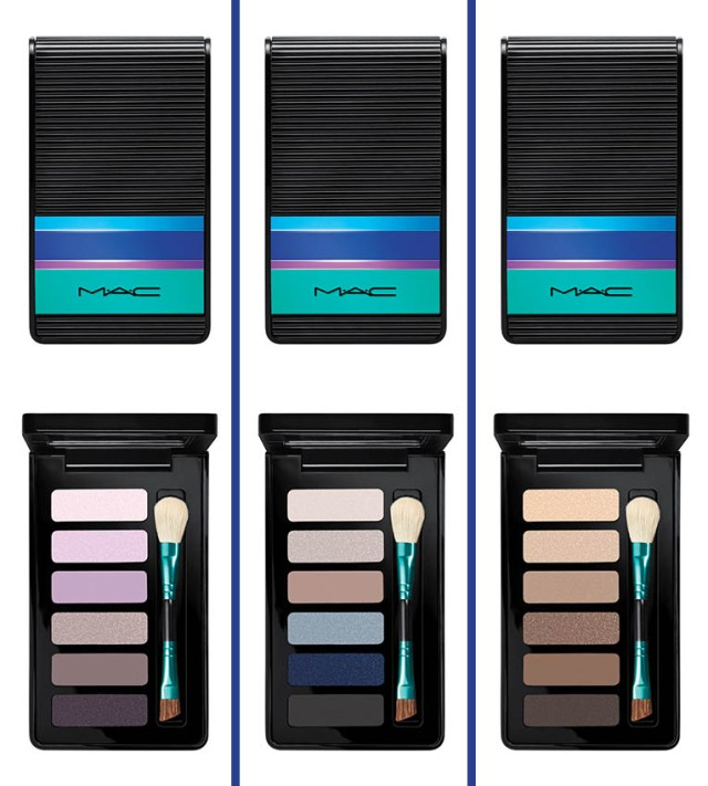 MAC Enchanted Eve, Eyeshadow X6 Compact Mauve & Navy & Warm, 235 lei