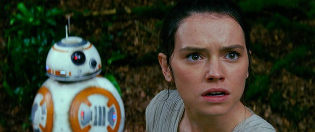 Star Wars: The Force Awakens, BB-8 & Rey
