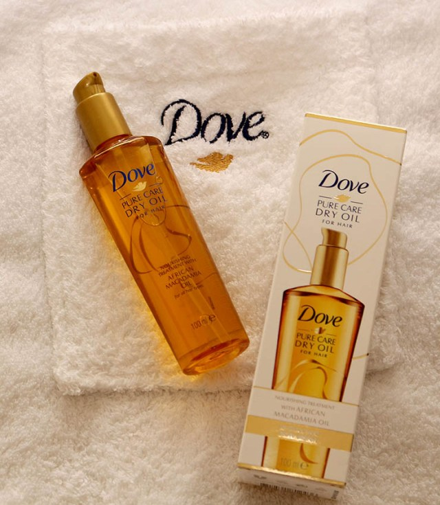 Dove Pure Care Dry Oil, ulei nutritiv