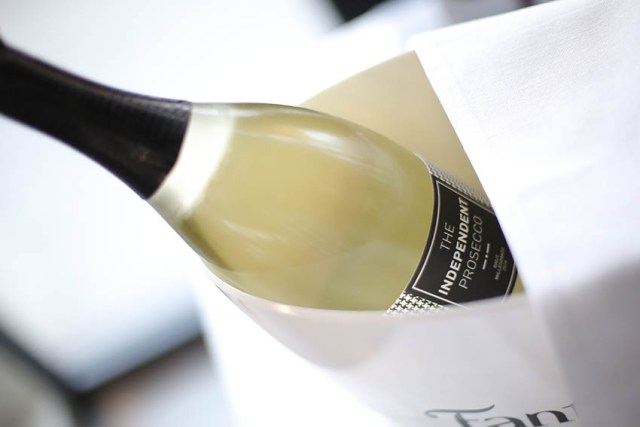 SOFA World Cuisine, The Independent Prosecco