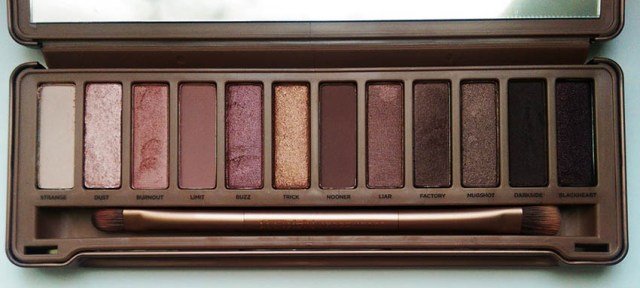 Urban Decay Naked 3, open