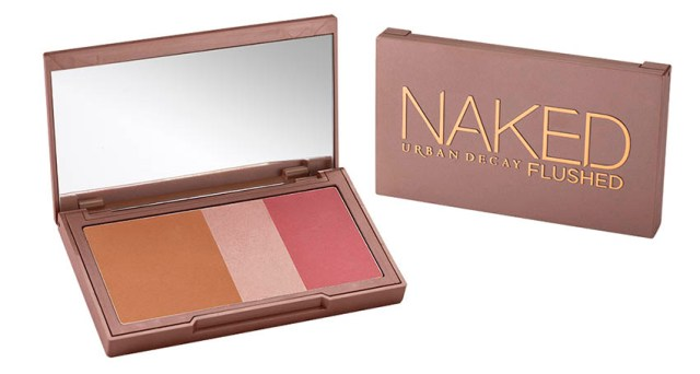 Urban Decay Naked Flushed, open & closed