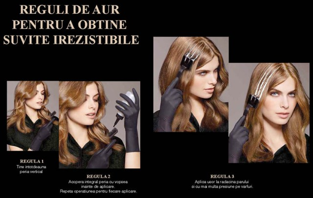L'Oreal Paris Preference Glam Bronde, reguli