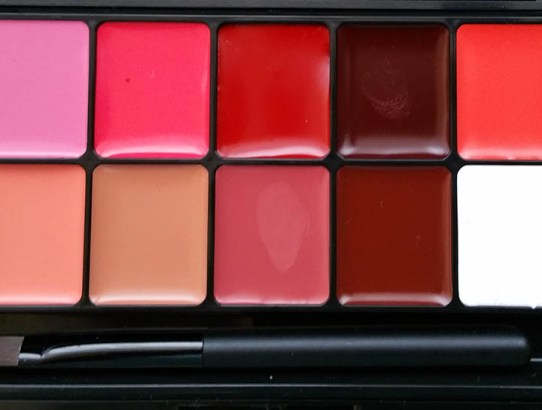 Tried&tested: MustaeV 10 Shade Lip Cream/Pro Palette