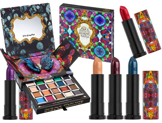 Makeup inspirat de Alice Through the Looking Glass