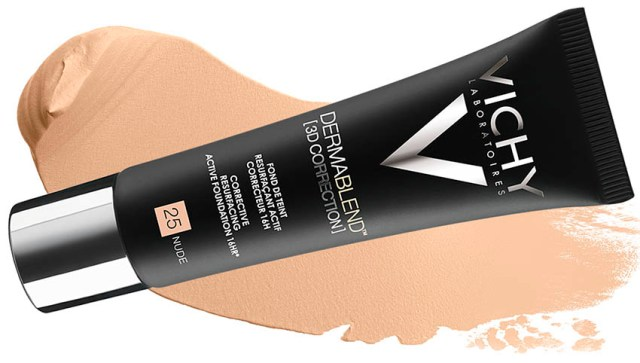Vichy Dermablend Corector 3D,swatch 25 Nude