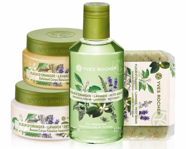 Yves Rocher Plaisirs Nature, floare de portocal & lavandă & petit grain