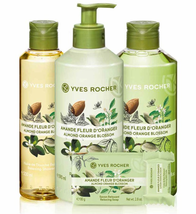 Yves Rocher Plaisirs Nature, migdală & floare de portocal