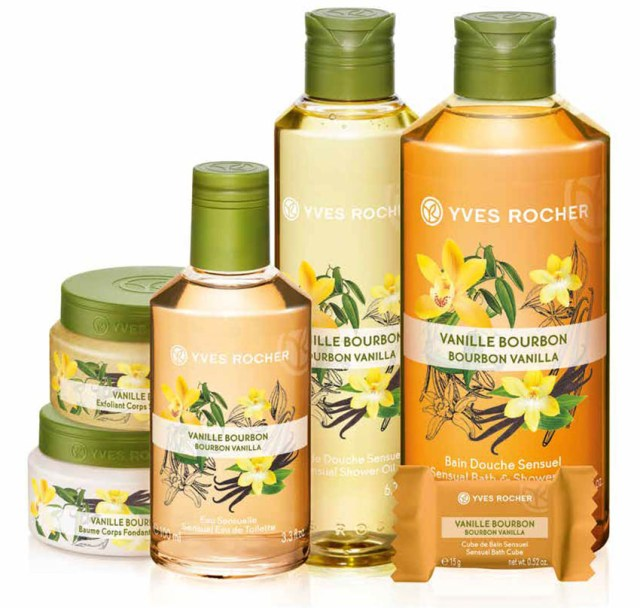 Yves Rocher Plaisirs Nature, vanilie bourbon