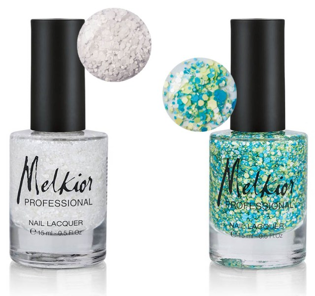 Melkior, top coat cu efect special Drops & Cheer Up