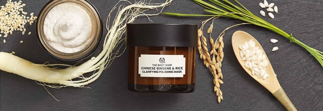 The Body Shop, Chinese Ginseng & Rice