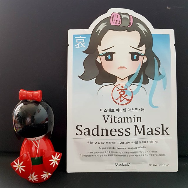 MustaeV Mood Therapy Vitamin Sadness Mask