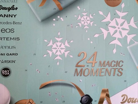 Am deschis primul Advent Calendar de la Douglas