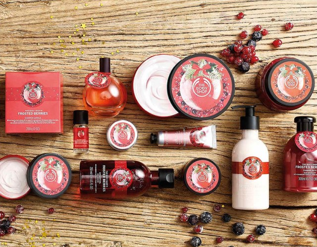 The Body Shop Frosted Berries
