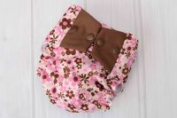 Pink Butterfly Cloth Diaper Cover - Labor of Love Baby ...