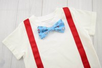 Nautical Bow Tie & Suspender Shirt - Labor of Love Baby ...