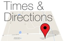 Worship Times & Directions