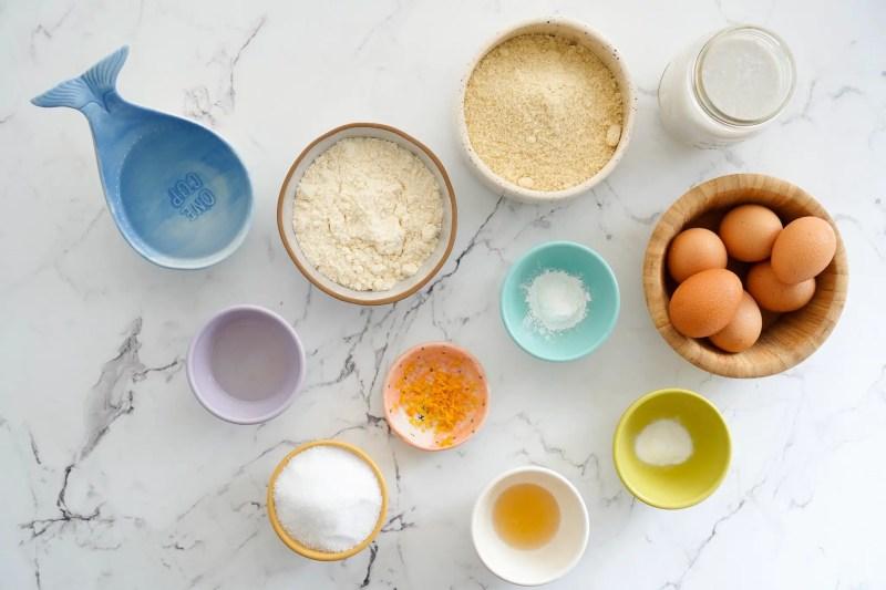 ingredientes torta keto