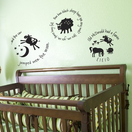 Le Nursery Rhyme Wall Sticker