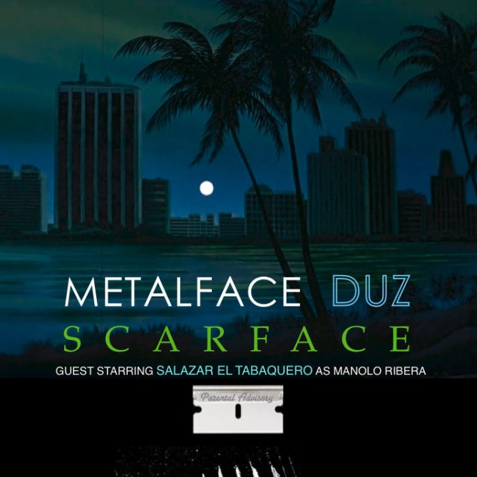 Joey Duz - Metalface Duz Scarface