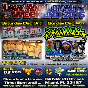 Love And Loyalty Weekend 2016 - Miami Hip Hop Event