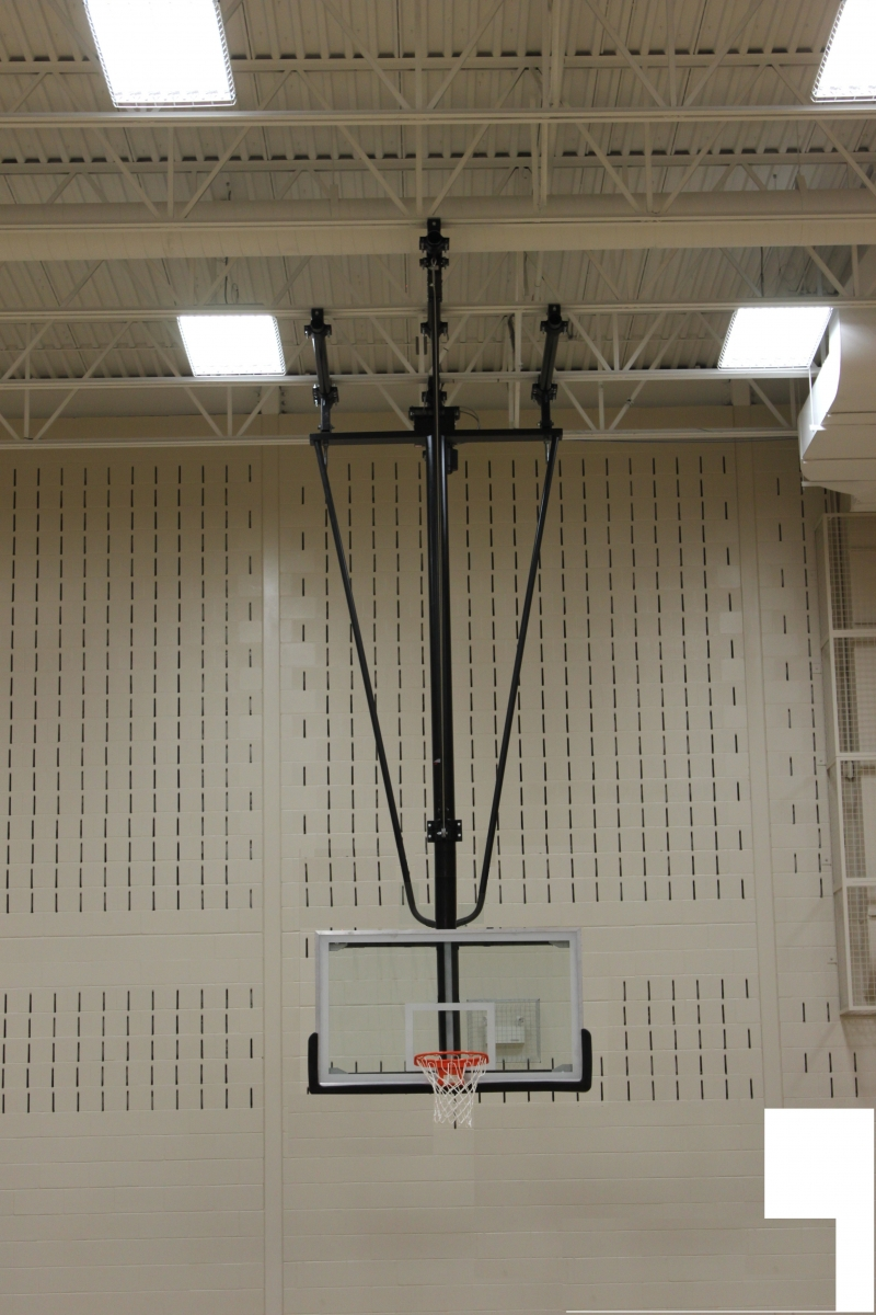 Products  Ceiling Suspended Basketball Frame  Lolimpin