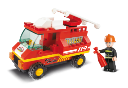 City Scene Fire Engine