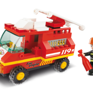 City Scene Fire Engine
