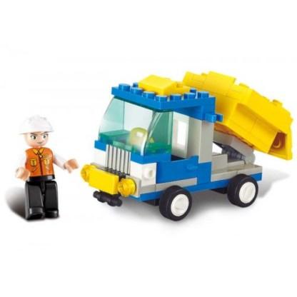 City Scene Sand Truck