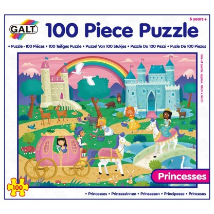100 Piece Puzzle - Princesses