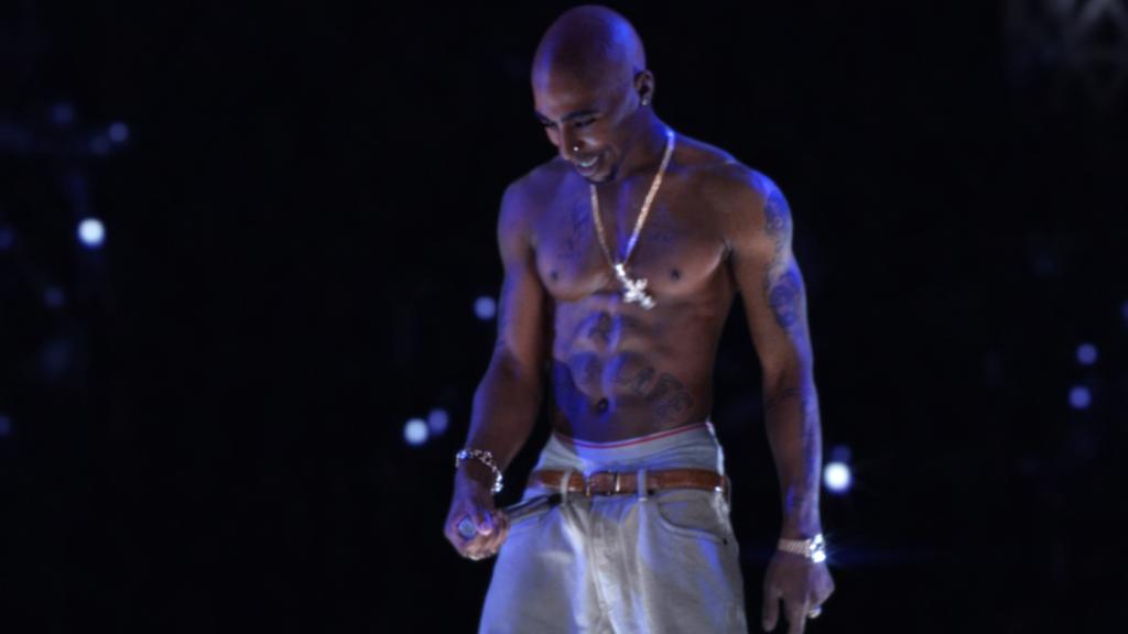 El holograma de Tupac Shakur