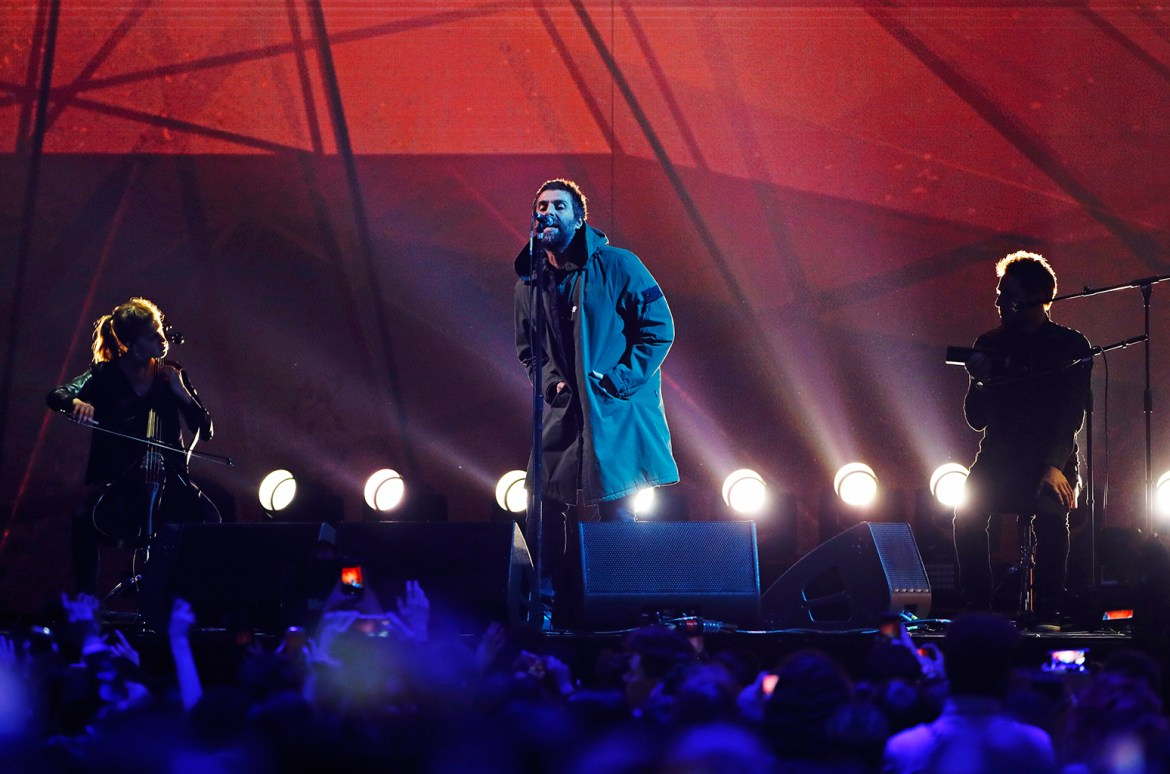 Liam Gallagher BRIT Awards 2018