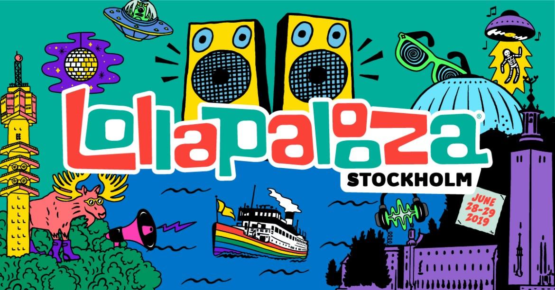 Lollapalooza Estocolmo 2019