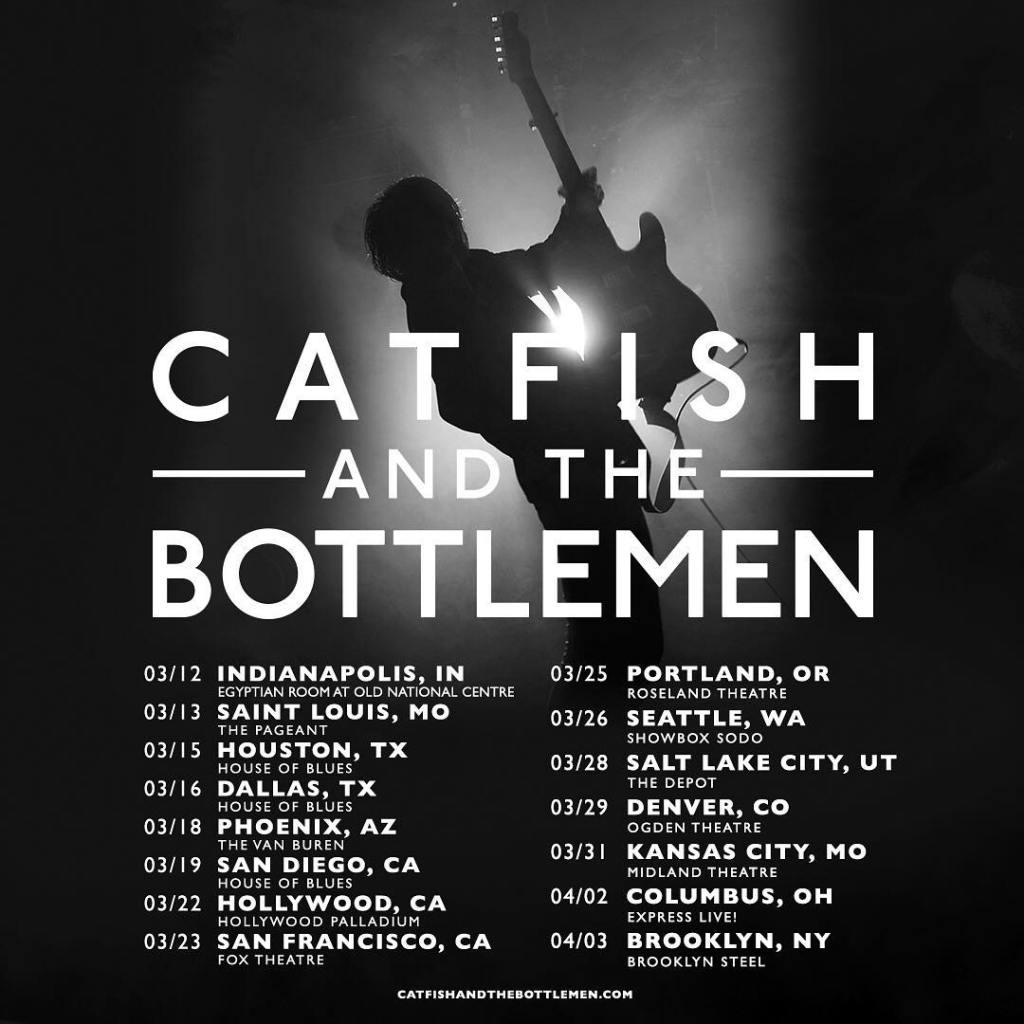 Tour de Catfish and the Bottlemen