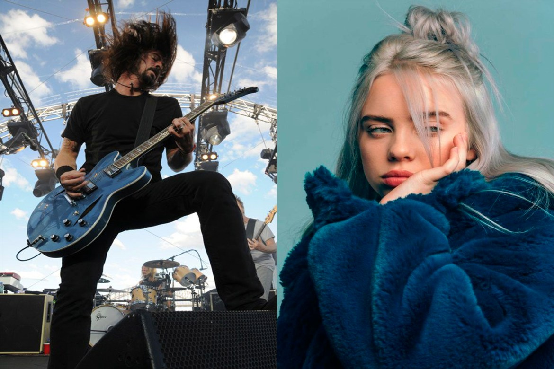 Dave Grohl compara a Billie Eilish con Nirvana