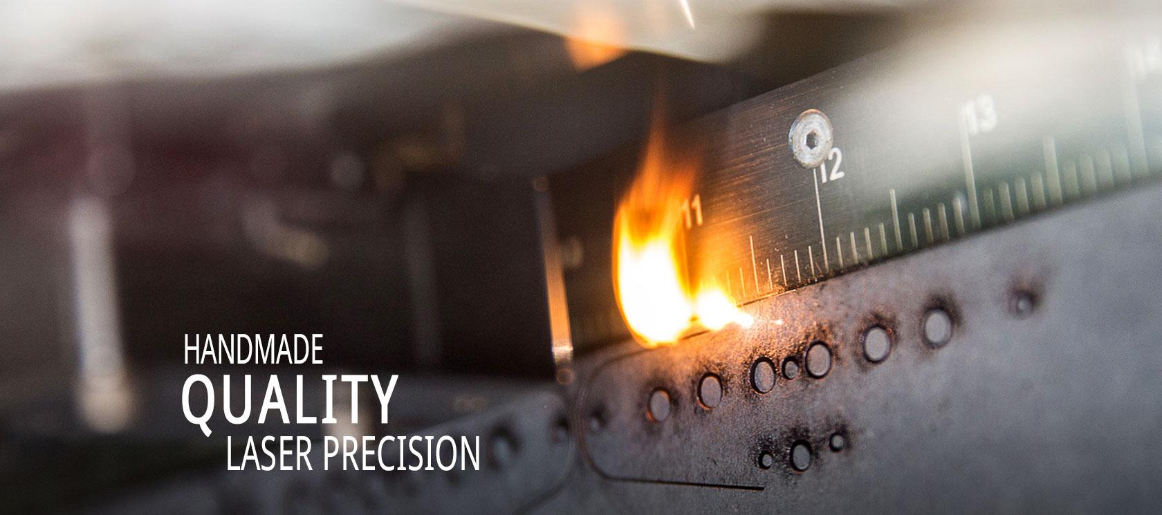 hight resolution of handmade quality laser precision