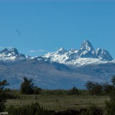 Mt. Kenya from Lolldaiga Main House, central Lolldaiga Hills Ranch.
