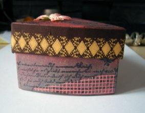 Petite boîte gâteau
